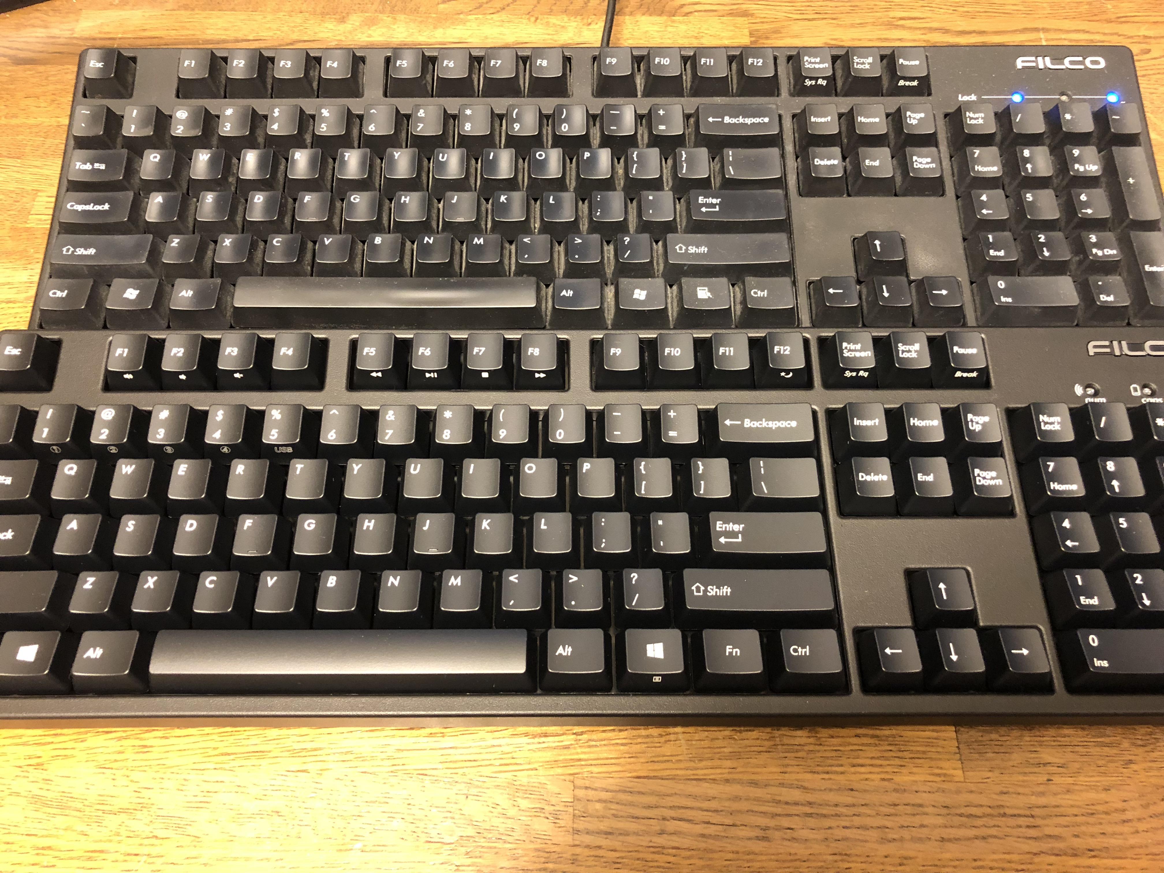 こだわりのキーボードとマウス